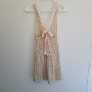 Intimately Free People Lace Slip Night Gown XS